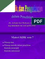 K16 Statistik Dan Pengukuran Dalam Penelitian