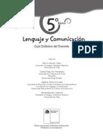 lenguaje y comunicación docente 5º basico