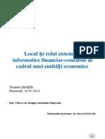 Locul si rolul sistemelor informatice financiar-contabile in cadrul unei entit¦âLŤi economice.v1