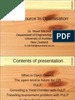 OpenSourceOptimisation