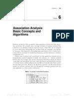 Association Analysis Basic Concepts and Algorithms