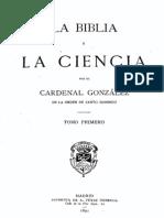 Cardenal Gonzalez La Biblia y La Ciencia