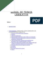 Anon - Manual de Tecnica Legislativa