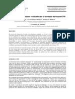 Prediccion de Tensiones Residuales en El Torneado Del Inconel 718