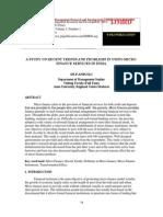 astudyonrecenttrendsandproblemsinusingmicrofinanceservicesinindia-2-130413062728-phpapp01