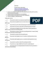 organism survival presentation directions