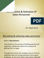 3. Recruitment & Selection