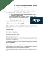 CANTERA - RESTOS ARQUEOLOGICOS INEXISTENCIA  requisitos para obtener  Certificado de Inexistencia de Restos Arqueológicos