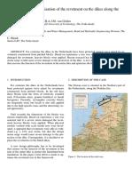 Probabilistic optimisation of  revetment on dikes along  Frisian coast