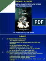 EL LIBRO BLANCO Y POLÍTICAS PÚBLICAS