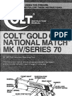 Colt Gold Cup National Match MKIV S-70