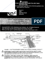 Colt Government Model MKIV S-70 Model O 1970 A1