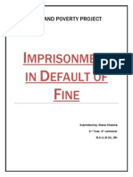 Imprisonment in Default of Fine