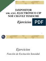 ENVIAR -68 Diap-Ejercicios Con Solucionario Del TEMA I - Teoria CA - Analisis de Estado Senoidal Permanente