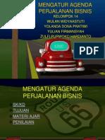 Mengatur Agenda Perjalanan Bisnis
