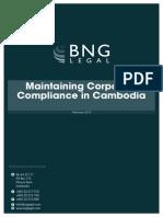 Cambodian Corporate Compliance