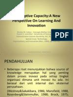 Absoptive+Capacity New+Persepective