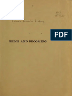 1920 Holmes Being and Becoming