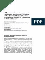im nutriceutical modulation of glutathione