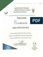 Reconocim Curso Italiano 100 Hr Julio 2013