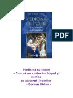 Doreen Virtue - Medicina Cu Ingeri