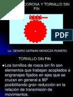 Rueda de Corona y Tornillo Sin Fin