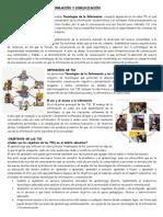 LAS TECNOLOGÍAS DE LA INFORMACIÓN Y COMUNICACIÓN
