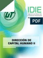Dirección del Capital Humano II