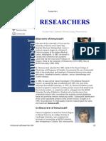 immunocal researchers