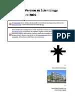Version des Wikipedia-Artikels zu Scientology vom 18 April 2007
