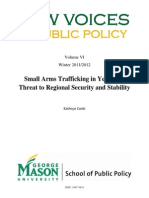 Small Arms Trafficking in Yemen