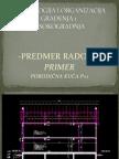 TOG 1-K-Primer Predmer Radova
