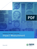 Guidebook for Impact Investors Impact Measurement