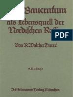 Darre, Richard - Das Bauerntum als Lebensquell der Nordischen Rasse (1942)