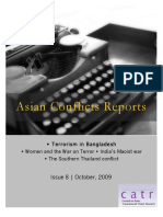 Asian Conflicts Reports, October 2009