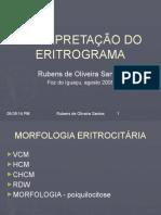 INTERPRETAÇÃO DO ERITROGRAMA