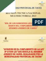 Regimen Juridico de Canes-exposicion