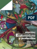 Memoria Encuentro Ecofeminismo