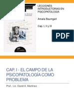01 Baumgart - Lecciones Introductorias de Psicopa Cap I II III