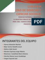 Generalidades Del Derecho Registral.
