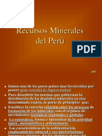 Recursos Minerales Del Peru1
