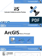 ArcGIS10_DistanciaEntrePontos