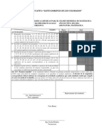 Cronograma de Actividades Academicas Examen Remedial