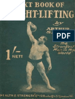 Arthur Saxon - Textbook of Weightlifting