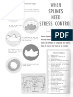 When Splines Need Stress Control - Dudley