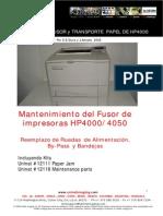 Mantenimiento-Fusor-HP4000