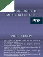 Instalaciones de Gas Para Un Hotel