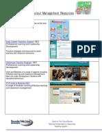 Ect Behaviour Management Resources