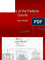 unit 6 - powers of the federal courts 1