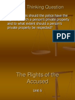 unit 6 - the rights of the accused